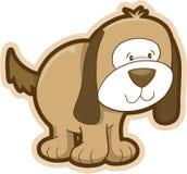 Dog Vector Illustration. Cute Puppy Dog Vector Illustration Royalty Free Stock Image