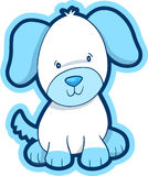 Dog Vector Illustration. Cute Puppy Dog Vector Illustration Royalty Free Stock Images