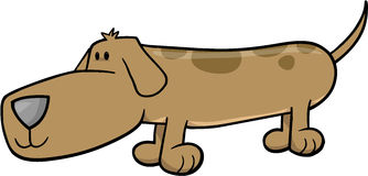 Dog Vector Illustration Stock Photo