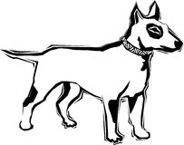 Dog Vector Illustration Royalty Free Stock Images