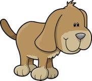 Dog Vector Illustration. Cute Puppy Dog Vector Illustration Royalty Free Stock Photo