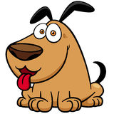 Dog. Vector illustration of Cartoon Dog Royalty Free Stock Images
