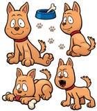 Dog. Vector illustration of Cartoon Dog Character stock illustration