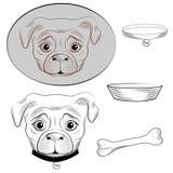 Dog vector Stock Photos