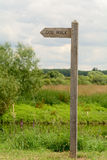Dog Walk signpost Stock Images