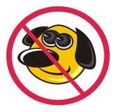 Dog-walking is prohibited Stock Photography