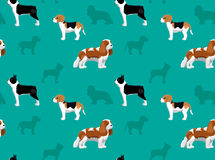 Dog Wallpaper 2 Stock Images