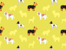 Dog Wallpaper 9 Royalty Free Stock Images