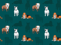 Dog Wallpaper 13. Animal Wallpaper EPS10 File Format Royalty Free Stock Photography