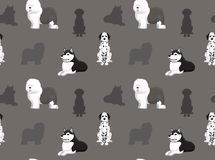 Dog Wallpaper 25 Royalty Free Stock Photo