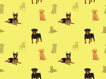 Dog Wallpaper german shepherd golden retriever rottweiler Royalty Free Stock Image