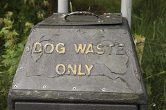 Dog waste only Stock Photos