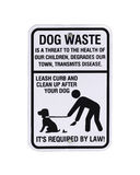 Dog waste sign Stock Image