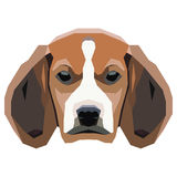 Dog on a white background. Vector. Royalty Free Stock Photo