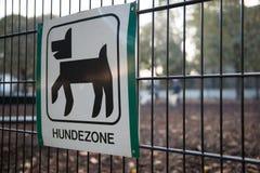 Dog zone Stock Photos