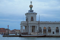 Dogana da mar, former Customs House in Venice, Italy Royalty Free Stock Photo