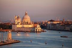 Dogana da Mar Santa Maria della Salute,  Venice Royalty Free Stock Images