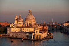 Dogana da Mar and Santa Maria della Salute, Venice Royalty Free Stock Images