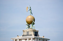 Dogana di Mare weathervane, Venice Stock Image