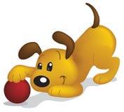 DogBall Royalty-vrije Stock Afbeelding