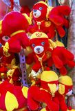 Red Dogs Chinese Lunar New Year Decorations Beijing China Royalty Free Stock Photo