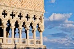 Doge-παλάτι, Βενετία Στοκ Εικόνες