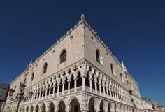 Doge παλάτι στη Βενετία στη Βενετία Στοκ Εικόνες
