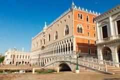 Doge παλάτι, Βενετία, Ιταλία Στοκ Φωτογραφίες