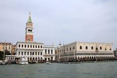 Doge παλάτι στη Βενετία Στοκ Φωτογραφίες