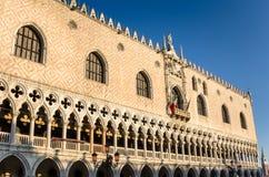 Doge παλάτι στο τετράγωνο σημαδιών του ST στη Βενετία Στοκ Φωτογραφία