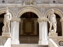 doge προαυλίων παλάτι Βενετί&alp στοκ εικόνα