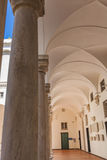 Doge Palace in Genoa. Porticato at Doge Palace in Genoa, Italy Stock Photo