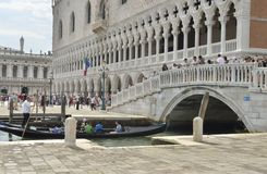 The Doge Palace Stock Images