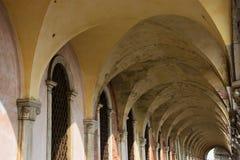 Doge Palace& x27 s arcade, Βενετία Στοκ εικόνα με δικαίωμα ελεύθερης χρήσης
