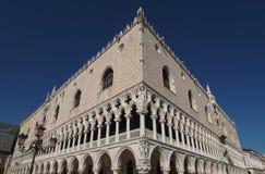 Doge Palace in Venice in Venice. The Doge Palace in San Marco square in Venice, Italy stock photo