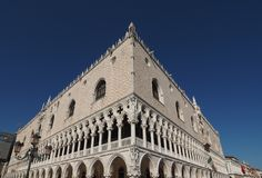 Doge Palace in Venice in Venice Stock Photo