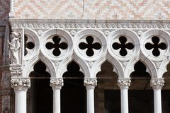 Doge Palace in Venice Stock Images