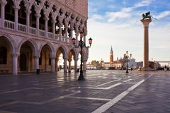 Doge Palace in Venice Stock Photo