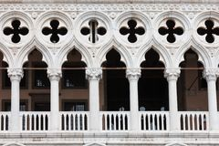 Doge Palace in Venice Stock Photos