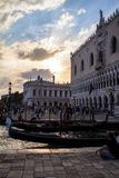 The Doge Palace in Venice Royalty Free Stock Image