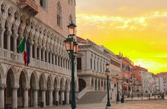 Doge palace, Venice, Italy Stock Photo
