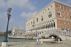The Doge Palace in Venice Royalty Free Stock Photo