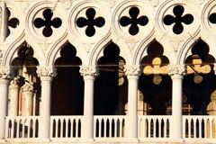 Doge-paleis, Venetië stock foto's