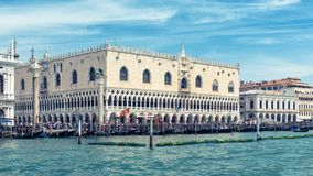Doge ` s παλάτι στη Βενετία, Ιταλία Στοκ φωτογραφίες με δικαίωμα ελεύθερης χρήσης