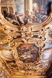 Doge ` s χρώμα Palazzo Ducale παλατιών στο ανώτατο όριο Στοκ Εικόνα