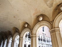Doge's Palace 1.2. Inner courtyard of doge's palace royalty free stock image