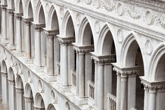 Doge's Palace Arches Stock Image