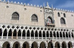 Doge's Palace Architecture Royalty Free Stock Photo