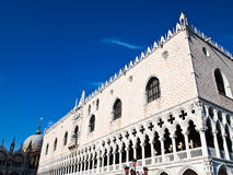 Doge's Palace , Cathedral of San Marco in Venice Royalty Free Stock Image