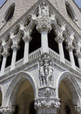Doge's Palace corner Royalty Free Stock Photography